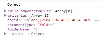addFolderCriterias